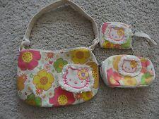 Hello Kitty Purse, Bag & Wallet Floral Pattern Girls