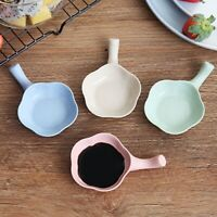 Home Small Dish Snack Plate Tableware Vinegar Dish Soy Sauce Dish Plate D