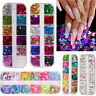 Nail Art Glitter Sequins Butterfly Flakes Holographic Laser Sticker Decoration