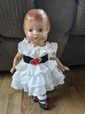 """Vintage Effanbee Patsy Jointed Molded Hair 12"""" Doll"""