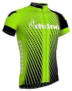 Didoo Men's Cycling Jersey Short Sleeve Top Qualität Biking Summer Half T Shirt