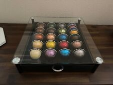 Nespresso Assortment Variety Sampler Capsules Pods w/ Tempered Glass Holder