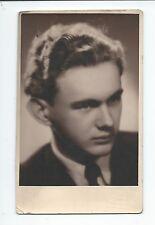 BP171 Carte Photo vintage card RPPC Homme portrait Foto Kloudova Praha