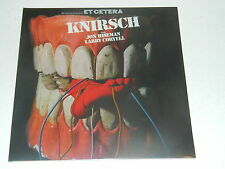 WOLFGANG DAUNERS / ET CETERA - Knirsch / Re. Long Hair / Vinyl LP  (New Sealed)