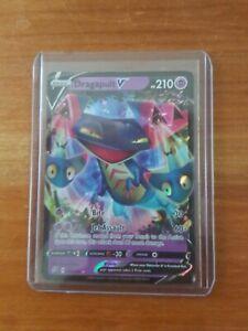 Pokemon Card DRAGAPULT V Ultra Holo Rare 92/192 REBEL CLASH - Mint Pack Fresh