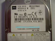 Toshiba MK3205MAV HDD2912 3.2GB 2.5IN IDE Drive Tested Good Free USA Shipping