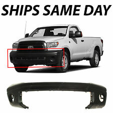 Primered - Front Bumper Cover for 2007-2013 Toyota Tundra Pickup w/o Park Assist