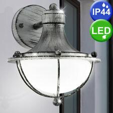 2er Set lampade a muro faretti esterno stile antico ALLUMINIO BALCONE luci LANTERNE 1-fiamma
