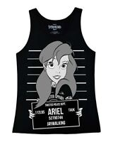 Twisted Ariel Little Mermaid Mugshot Vest Top Tank Alternative Emo Gothic Punk