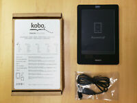 Kobo Touch eReader N905 Black eBook 2GB Wi-Fi RG-N905-KBO-B - FREE SHIPPING