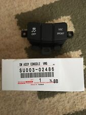 GENUINE TOYOTA SCION FRS 86 GT86 RC CENTER CONSOLE BLACK SWITCH BUTTONS OEM