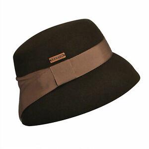 KANGOL Tail Cora 100% WOOL Felt Bucket Hat Womens Ladies K1514LX MADE IN USA New