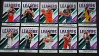 2019-20 Donruss League Leaders Insert Basketball Cards Complete Your Set U Pick