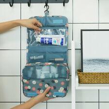 Hanging Toiletry Bag - Large Cosmetic Makeup Travel Organizer for Men & Women