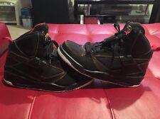 Nike Air Jordan Flight 45 Black Red 384519-006 Men's 8 Basketball Shoes B22