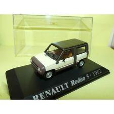 RENAULT RODEO 5 1982 Crème et Marron NOREV Collection M6 1:43