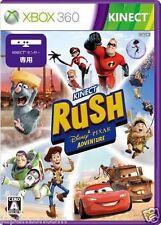 Used Xbox 360 Kinect Rush Disney Pixar MICROSOFT  JAPAN JAPANESE JAPONAIS IMPORT
