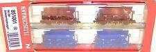 NS 4er Juego Tds Vagón de Autodescarga Ep4 Fleischmann 851001 Nuevo 1:160 Hr5 Μ