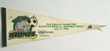 VTG 1996 Rochester Rhinos Montreal Impact First Game at Frontier Field Pennant
