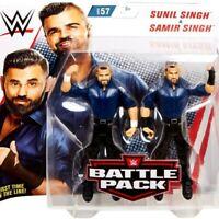 WWE Sunil Singh & Samir Singh Battle Pack Action Figure Set Series 57 BNIB #NG