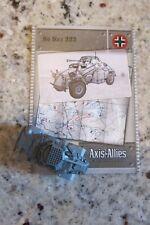 AXIS & ALLIES MINIATURES BASE SET 34/48 SD KFZ 222 W/CARD WOTC