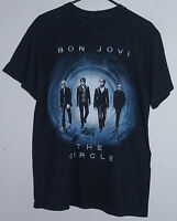 BON JOVI THE CIRCLE 2010 WORLD TOUR T-SHIRT (MEDIUM)