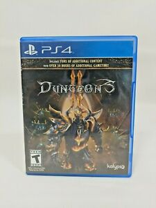 Dungeons 2 Sony PlayStation 4 PS4 Game Kalypso 2016 Complete Clean