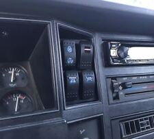 Jeep Cherokee Xj / Mj 84-96 Switch Panel - Clock Panel Replacement 4x Carling