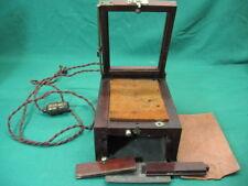 Antique burke & James Chicago film plate processing box machine Camera