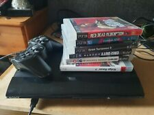 Ps3 Super Slim 12gb With 6 Games