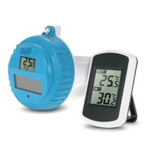 Solar Floatable Swimming Pool Thermometer for Wireless SPA Float Digital Measure