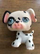 Littlest Pet Shop #44 Dalmatian with blue eyes 2004 Rare