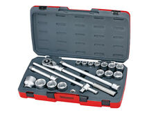 Teng TENT34186 T3418-6 Socket Set of 18 Metric 3/4in Drive FREE POST