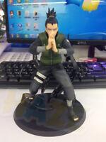 Anime Naruto Shippuden Shikamaru Nara Figura Estatua Juguetes Modelo Colección