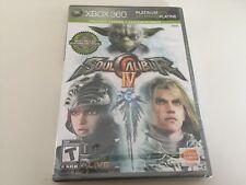 Soul Calibur IV (Microsoft Xbox 360, 2008) XBOX 360 NEW