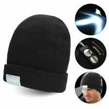 5 LED Beanie Hat Cap With 5 LED Torch Light Outdoors Camping Fishing Joggers