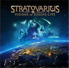 STRATOVARIUS - VISIONS OF EUROPE (REISSUE 2016)  2 CD NEUF