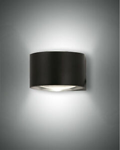 LED up & down Außen Wand Leuchte Lampe Lao 2flg. Fabas Luce 3603-22-101 schwarz
