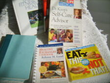LOT of SIX(6) HEALTH/FITNESS/WEIGHT LOSS BOOKS Exercise Menus SOUTH BEACH DIET++
