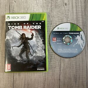 RISE OF THE TOMB RAIDER XBOX 360 GAME PAL CASE & DISC TESTED WITH FREE DELIVERY