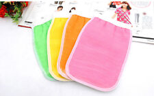 Shower Exfoliating Wash Skin Spa Bath Gloves  Massage Loofah Scrubber TOCA
