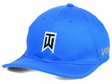 Nike Tiger Woods TW Golf Ultralight Blue Strapback Cap Hat $32