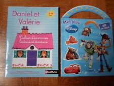 CAHIERS D'EXERCICES DANIEL ET VALERIE NEUF