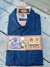 Brand New, DICKIES, 1574, Short Sleeve, Men's, Size Large,Navy,Work Shirt/ Shirt