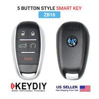 KEYDIY KD Universal Smart Proximity Remote 5 Buttons Type ZB16 for KD-X2
