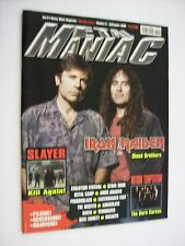 METAL MANIAC #09 / 2006 - IRON MAIDEN - SLAYER - WITHIN TEMPTATION - MISFITS
