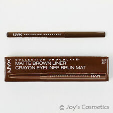 """1 NYX Collection Chocolate Eye Liner """"CC 02 - Matte Brown"""" Joy's cosmetics"""