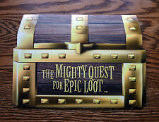 The Mighty Quest For Epic Loot Promotional Press Kit - Rare Promo Press Kit