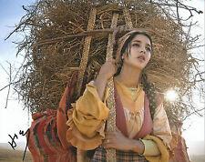 GFA May en el Verano Movie Hiam Abbass Firmado 8x10 Foto MH2 Coa