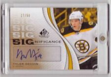 Tyler Seguin 2010 SP Game Used Edition Significance RC Auto #/50 Bruins FREE SH
